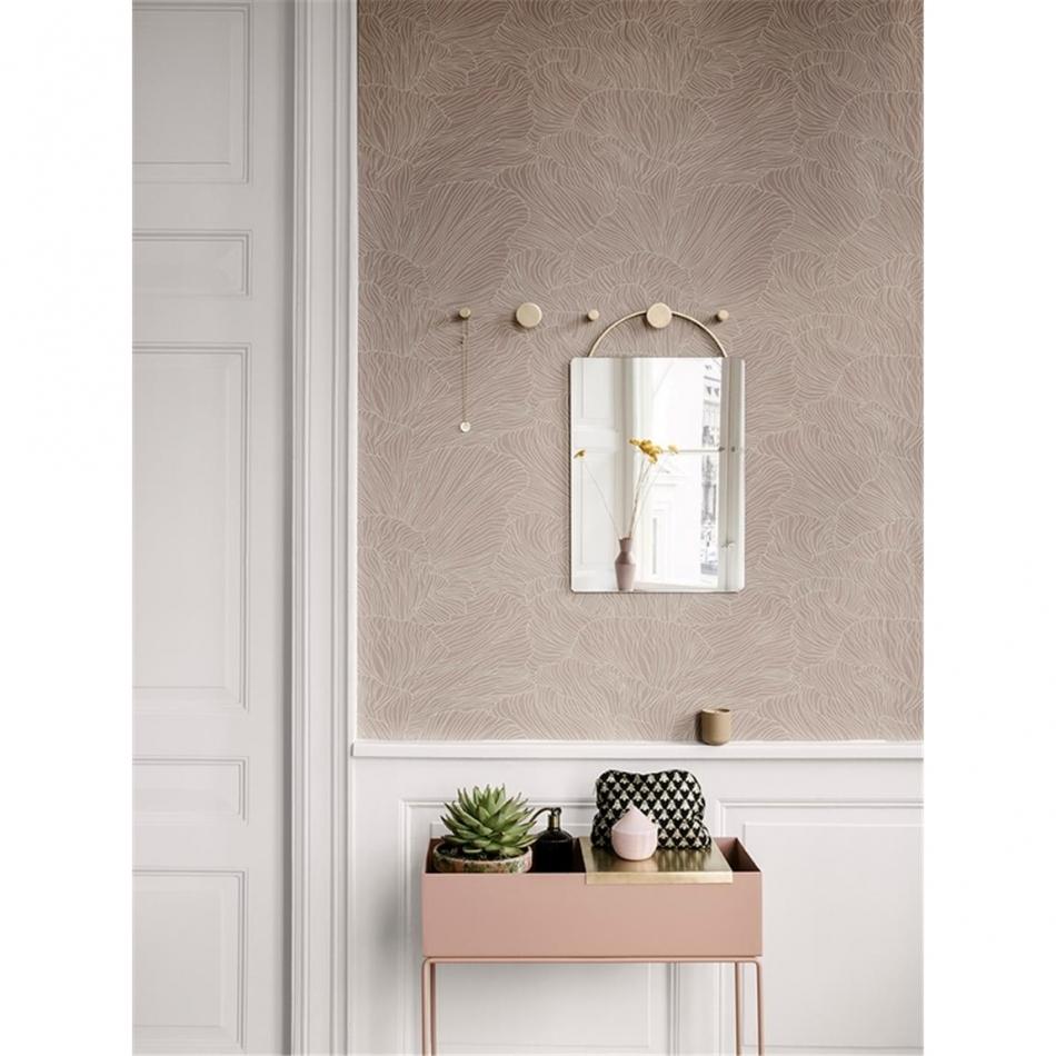 ferm living garderobenhaken hook brass large shop. Black Bedroom Furniture Sets. Home Design Ideas