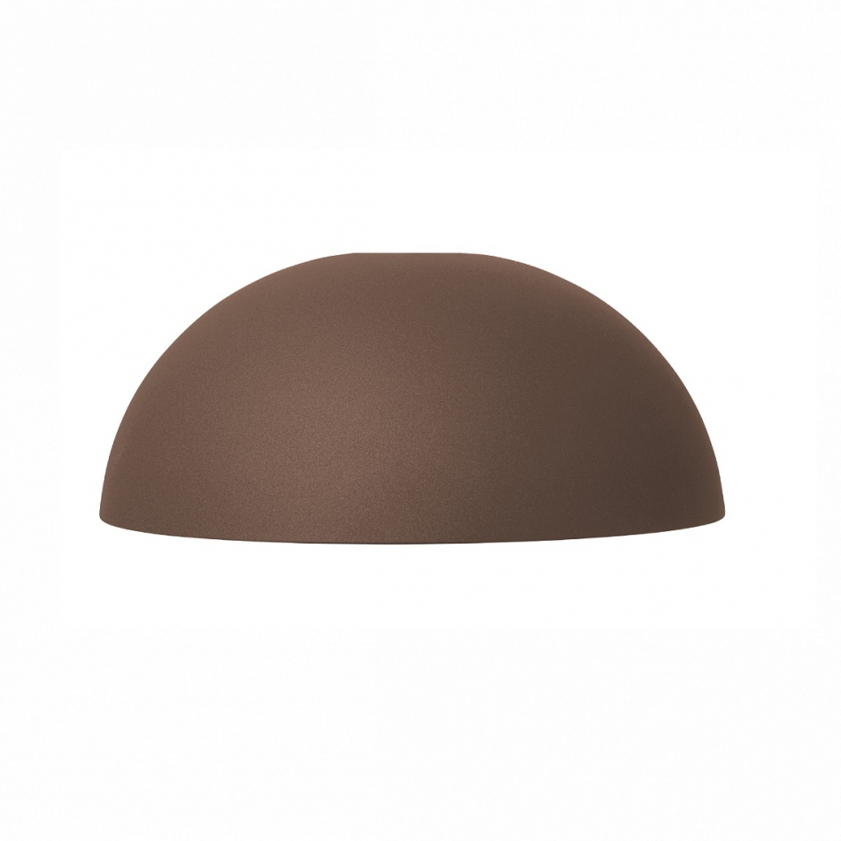 FERM LIVING Lampenschirm Dome Shade red brown