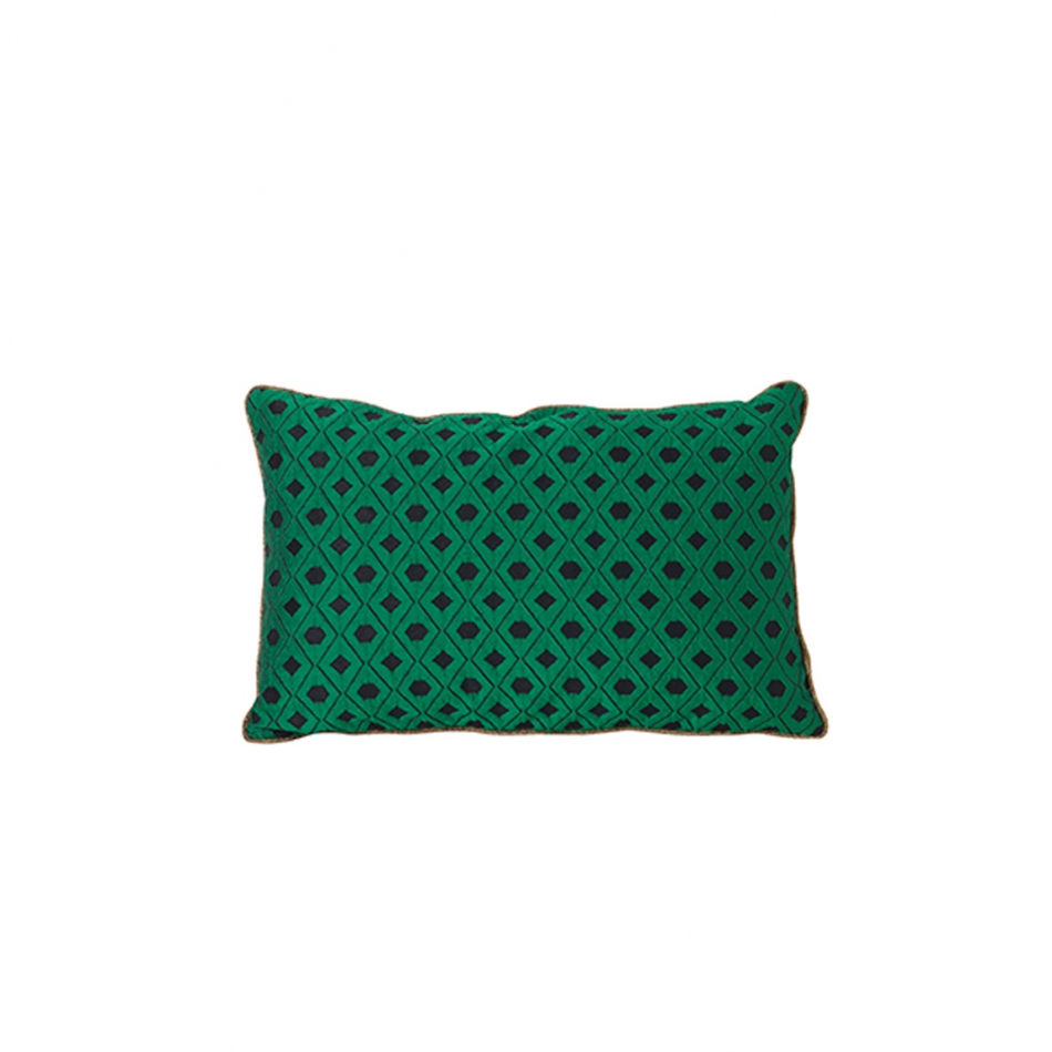 FERM LIVING Salon Kissen Mosaic green