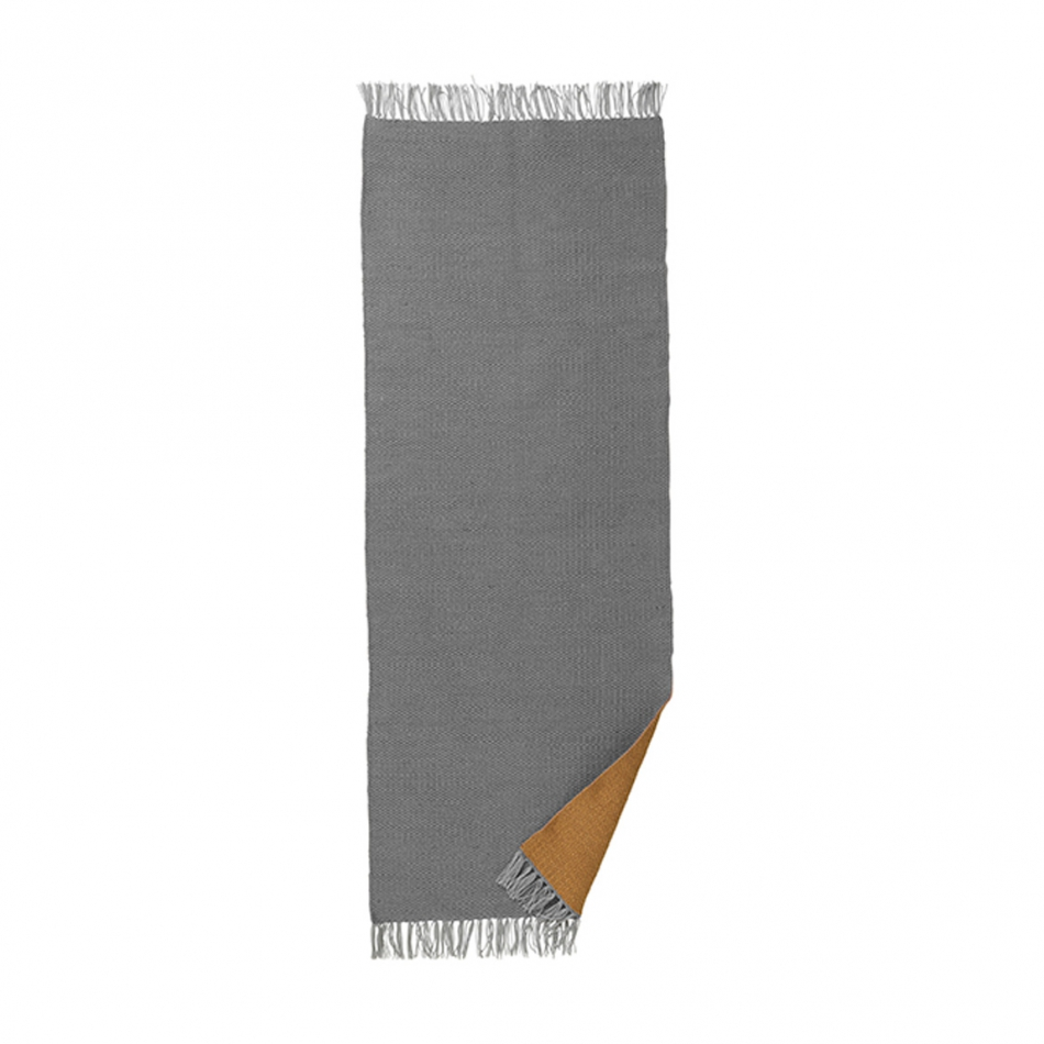 FERM LIVING Teppich Nomad rug curry 70x180 cm