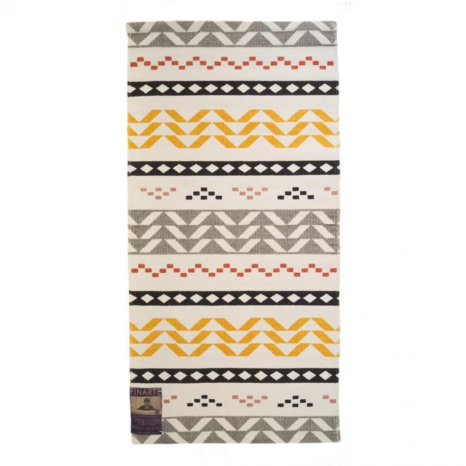 finarte teppich walli yellow 60x120cm. Black Bedroom Furniture Sets. Home Design Ideas