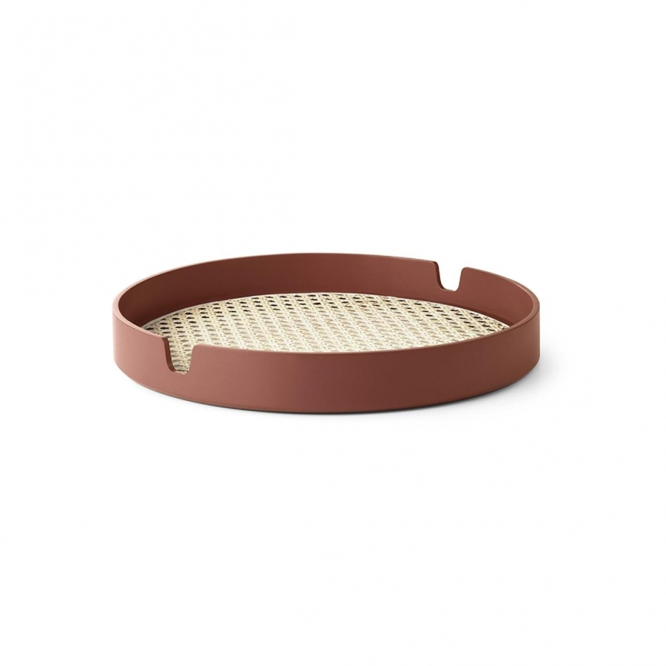 NORMANN COPENHAGEN Tablett Salon Tray rust 35cm