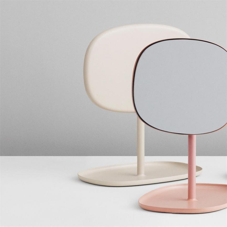 normann copenhagen flip mirror blush. Black Bedroom Furniture Sets. Home Design Ideas