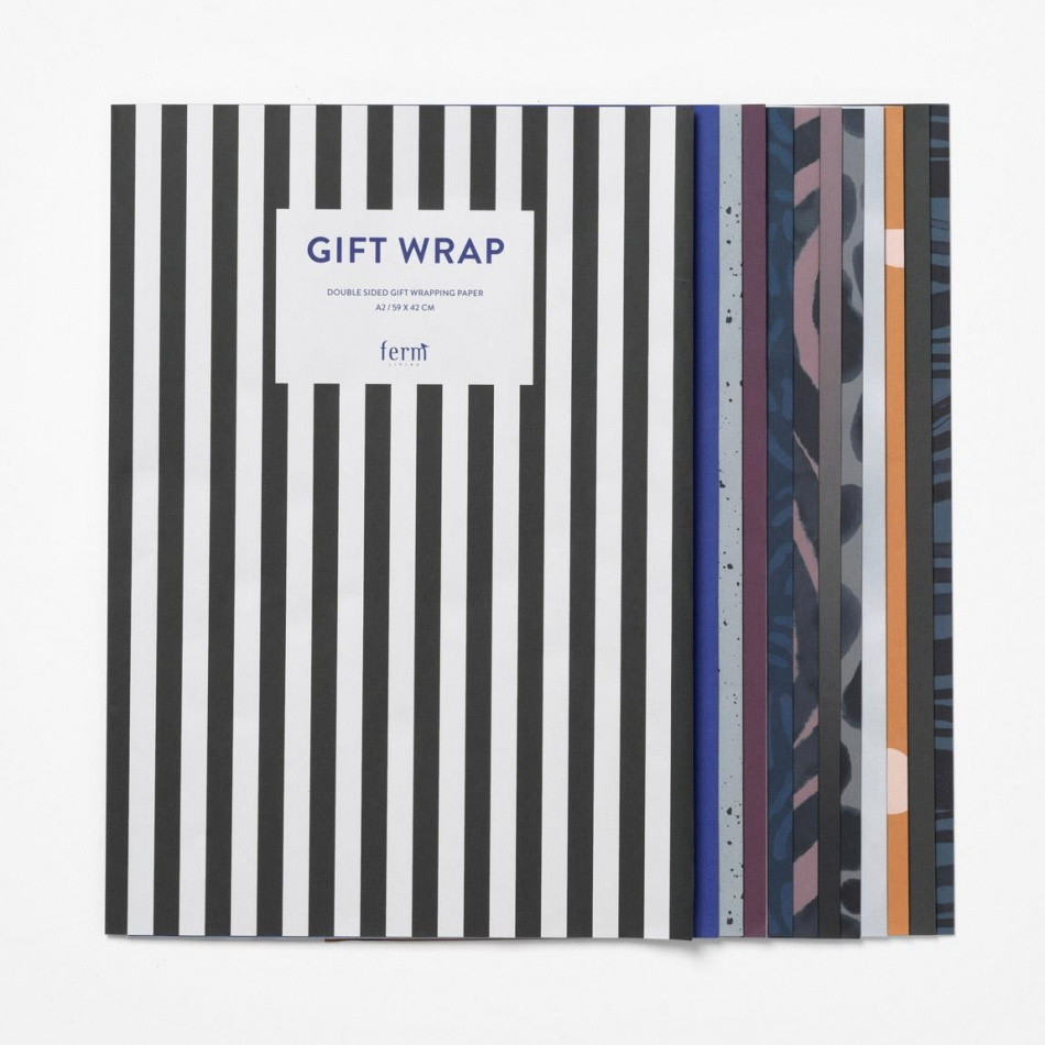 ferm Living Geschenkpapier Set hier online bestellen