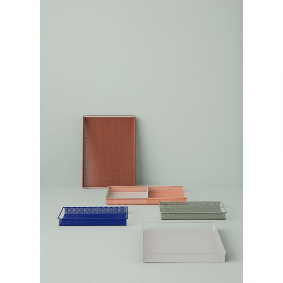 ferm living metalltablett rose s. Black Bedroom Furniture Sets. Home Design Ideas