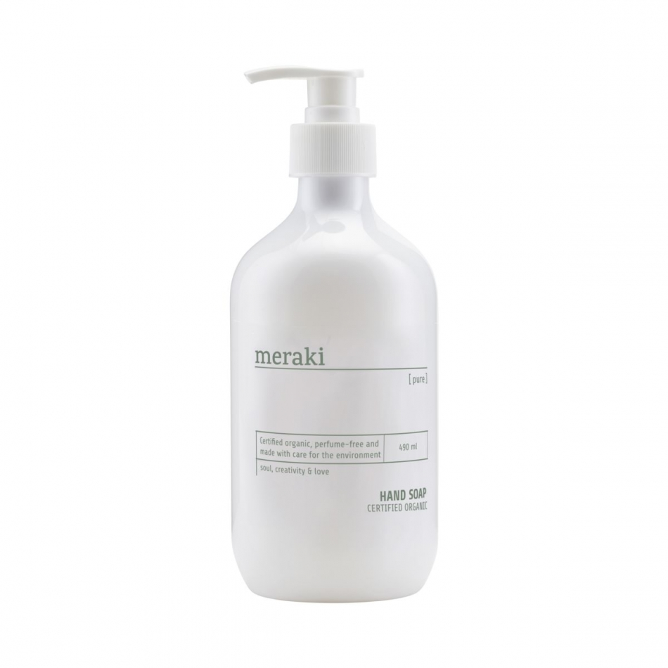 MERAKI Handseife Pure 490ml