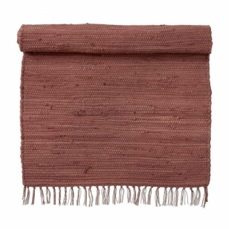 BUNGALOW Teppich Chindi rosewood 60x90 cm