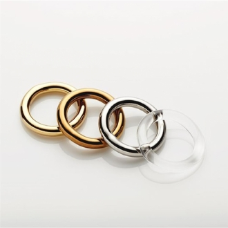 CHRISTIAN METZNER BRANDENBURG Ring aus Glas gold
