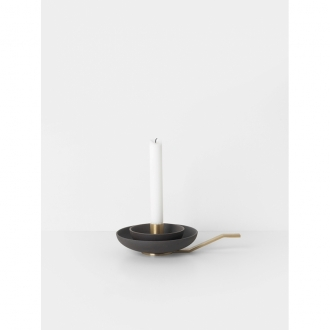 FERM LIVING Kerzenhalter Around charcoal