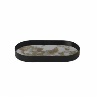 FERM LIVING Coupled Tray oval moss green