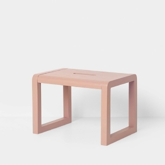 FERM LIVING Kids Little Architect Hocker rose