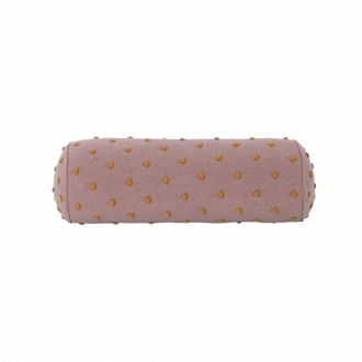 FERM LIVING Kids Popcorn Kissen Rolle dusty rose