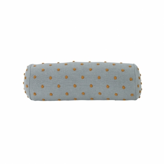FERM LIVING Kids Popcorn Kissen Rolle dusty mint