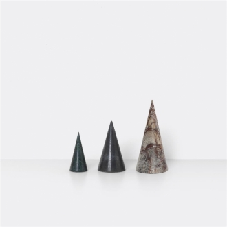 FERM LIVING Marble Trees 3er Set