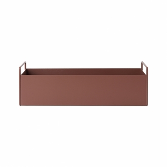 FERM LIVING Plant Box small red brown