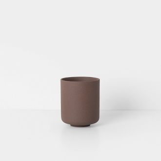 FERM LIVING Sekki Cup rust large
