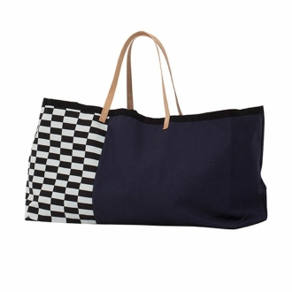 FERM LIVING Tasche Herman Big Bag blue