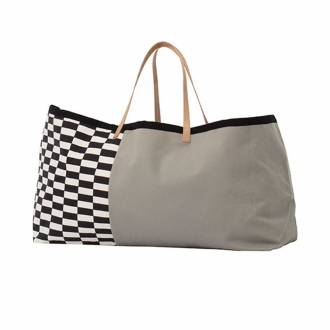 FERM LIVING Tasche Herman Big Bag grey