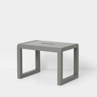 FERM LIVING Kids Little Architect Hocker grau