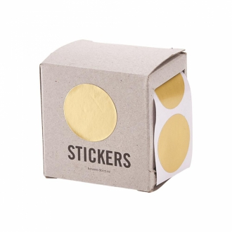 HOUSE DOCTOR Sticker circle gold 60st.