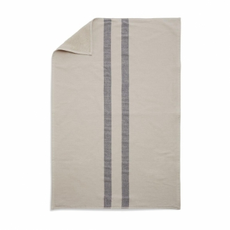 SKAGERAK Handtuch Stripes cream/dark blue 40x60 cm