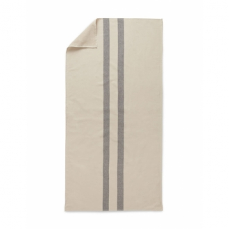 SKAGERAK Handtuch Stripes cream/dark blue 70x140 cm