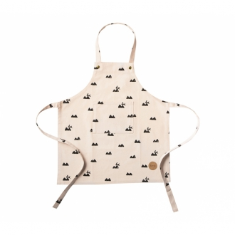 FERM LIVING Kinder Schürze Rabbit