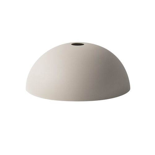 FERM LIVING Lampenschirm Dome Shade light grey