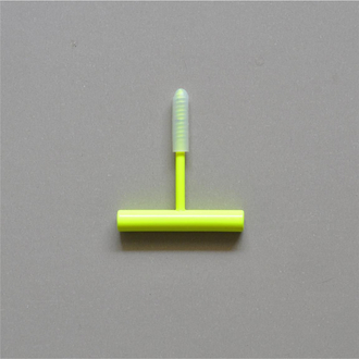 KOLOR Garderobenhaken Line Hook S fluo yellow