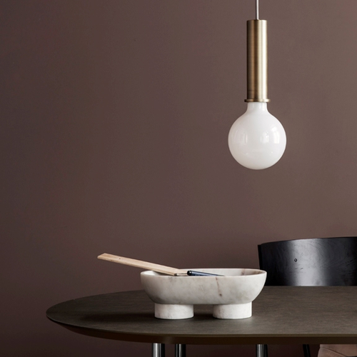 FERM LIVING Alza Bowl white
