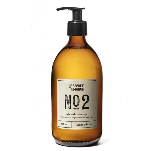 LE SECRET DE MANON Seife No2 Matin des Printemps 500ml
