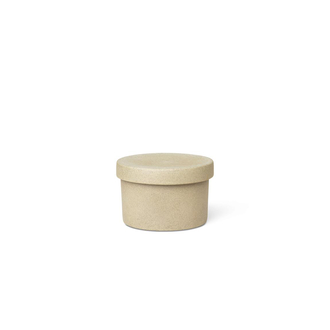 FERM LIVING Bon Small Container Dose mit Deckel