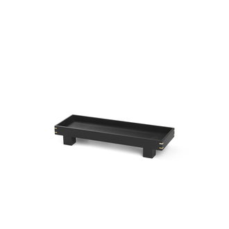 FERM LIVING Bon Tray Tablett XS dark stained black