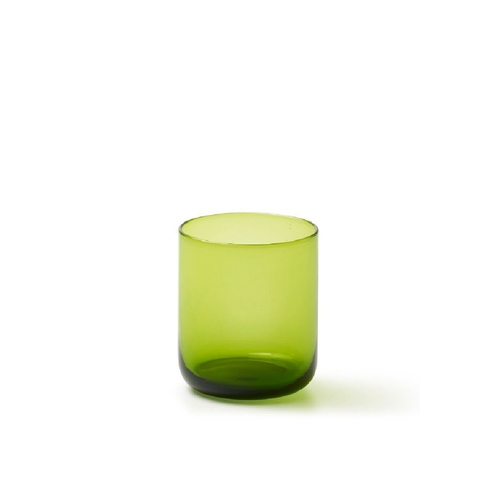 BITOSSI Wasserglas Bloom olive green