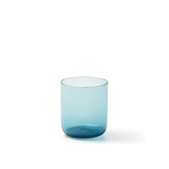 BITOSSI Wasserglas Bloom blue