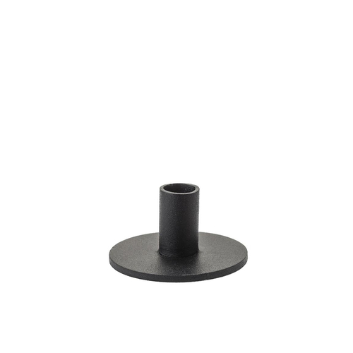 KUNSTINDUSTRIEN Kerzenhalter für Slim Candles The Circle black